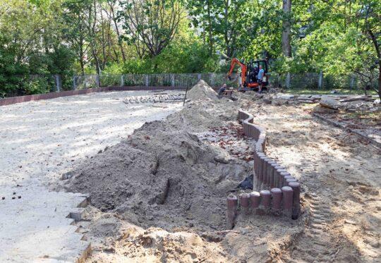 Beginn der Baustelle Kita Tausendfuessler